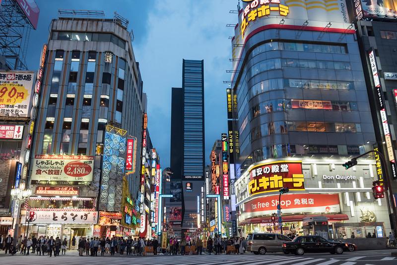 Kabukicho Crossing, Shinjuku, Tokyo