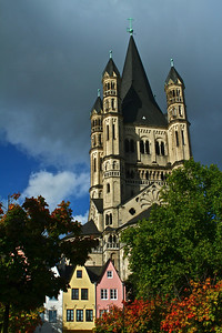 Grand Church in Cologne, Germany