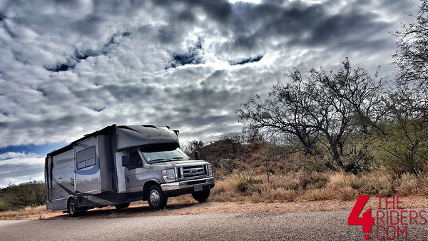 rv coach thor four winds siesta off grid boondocking