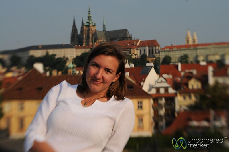Audrey in Prague