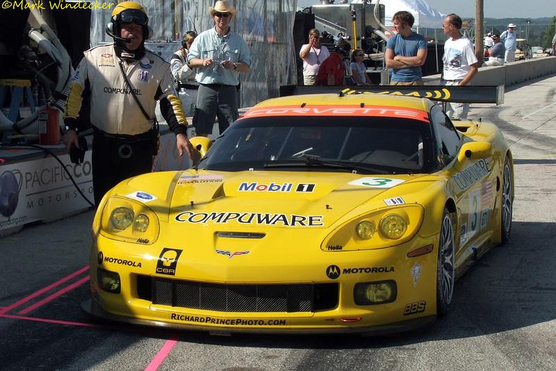 GT1 Corvette Racing Chevrolet Corvette C6.R Z06