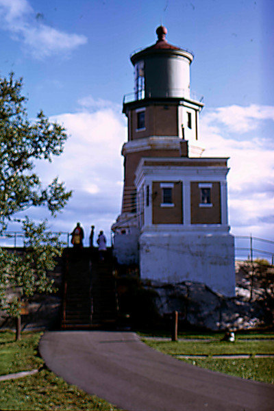 1974-09 - MN North Shore - lighthouse