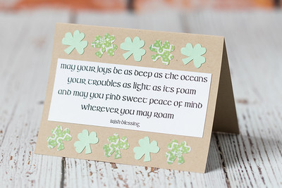 10 Simple DIY St. Patrick's Day Cards
