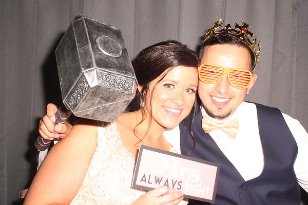 Jayme and Mike's Wedding Photobooth