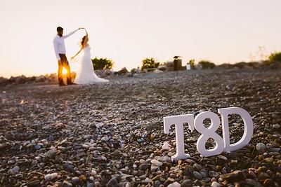 D & T wedding