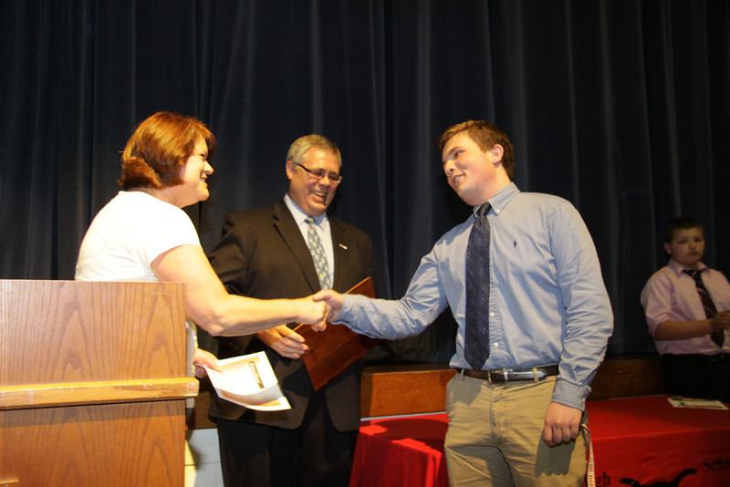 Awards Night 2012 - Richard W Linn Outstanding Science Award