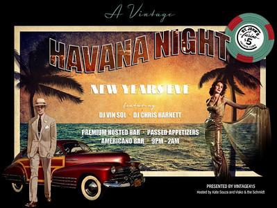Vintage415's New Year's Eve 2011: Havana Night @ Hotel Vitale and Americano 12.31.10