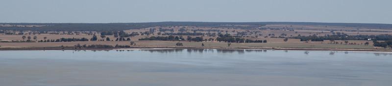 Salt lake near Araps