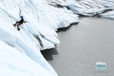 Ice Climbing with Noah and Jay