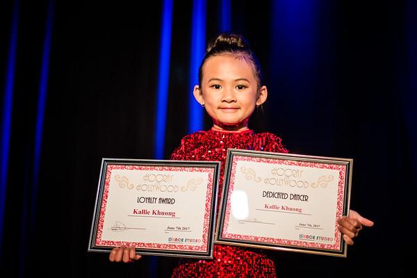 Kallie Dance Recital  June 2017