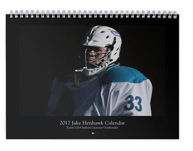 2017 Jake Henhawk Calendar