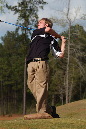 UL golf vs. Mary Persons - March 2007