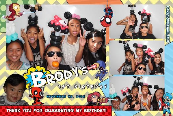 Brody's 1st Birthday (Luxury Photo Pod)
