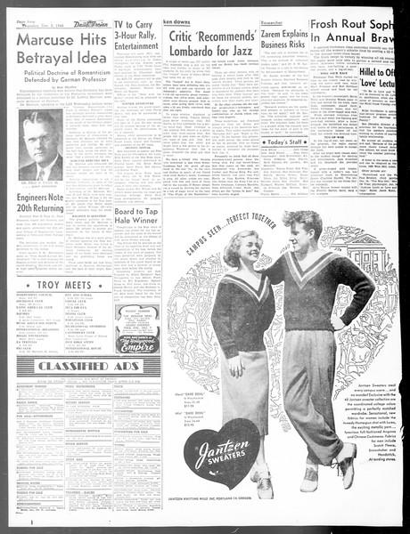 Daily Trojan, Vol. 40, No. 56, December 02, 1948