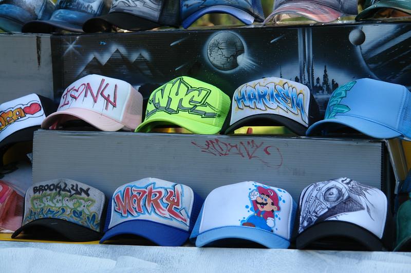 Astoria Music and Arts Festival                                                                                              MICKEYANGELO                                                                                                 Graffiti custom hats