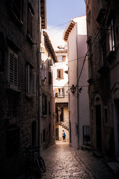Wandering the Streets of Rovinj