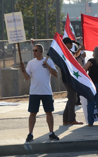 Syria Bombing Protest