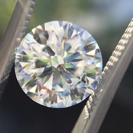 2.65ct Round Brilliant Cut Diamond, AGS 000 H, SI2
