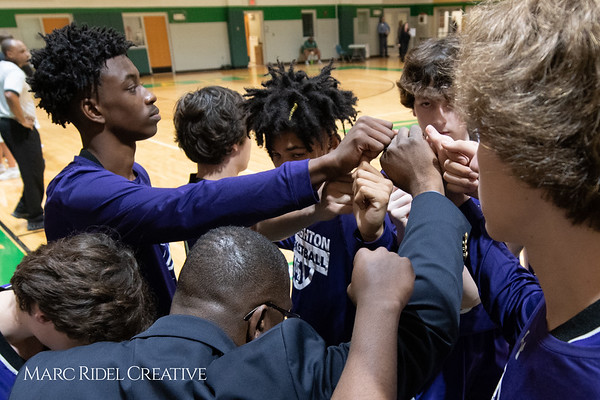 Broughton JV boys basketball vs Cardinal Gibbons. February 7, 2019. MRC_3834