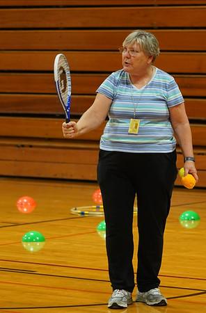 Dr. Davis's Elementary PE Class