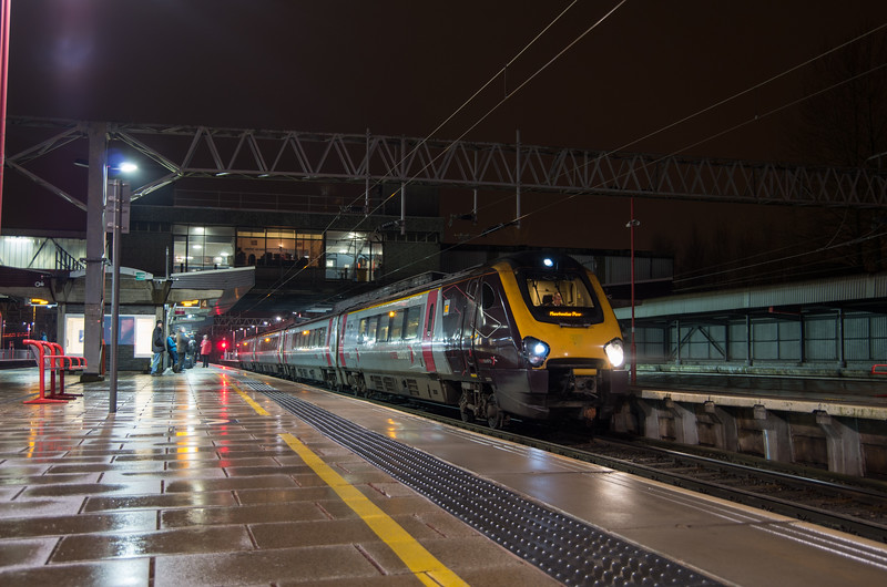CrossCountry Voyager at Stafford