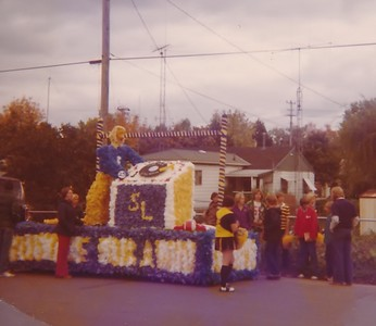 1976 Homecoming Float