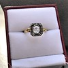 .53ctw Rose Cut Halo Ring, by Single Stone 30