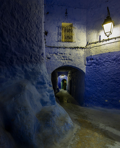 Beautifully perched beneath the raw peaks of the Rif, Chefchaouen is one of the prettiest towns in Morocco, an artsy, blue-washed mountain village that feels like its own world.  Chefchaouen, Morocco, 2018