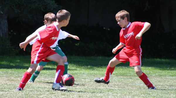 Gabriel's Soccer Comets 2008