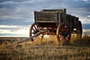 Wooden Wagon - Little Bighorn, Montana, USA