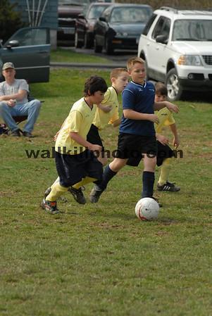 Team 1 Navy vs Team 5 Yellow - 10:30  - 4-12-08