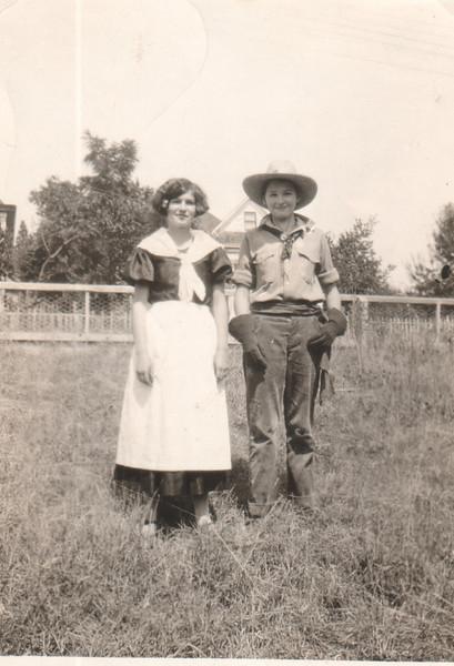 Margaret Martini and Eileen Huges