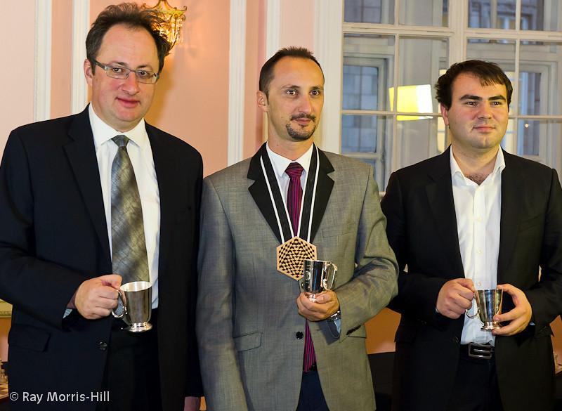 Boris Gelfand, Veselin Topalov and Shakhriyar Mamedyarov.   Equal 1st with 7/11