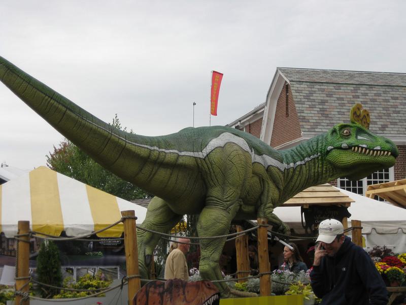 Dinosaur Place exhibit.