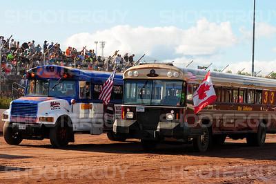 School Bus Races  Aug-6-2016