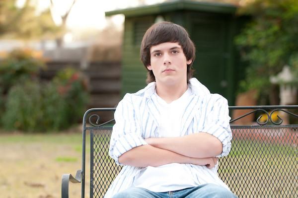 Kaleb Senior Portraits in Abilene - Not Cropped