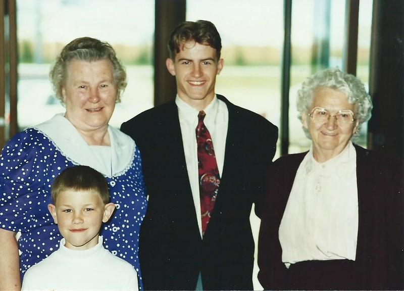 Mom Kevin Thomas Aunt Martha Kevin Baptism Day.jpg