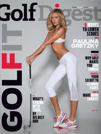 """. <p>9. GOLF DIGEST <p>Wait! ... They�re still printing magazines about golf? (10) <p><b><a href=\'http://www.golfdigest.com/blogs/the-loop/2014/04/whats-paulina-gretzky-doing-on.html\' target=\""""_blank\""""> HUH?</a></b> <p>   (Golf Digest)"""