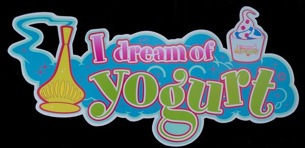 This is the Yogurt shop logo.