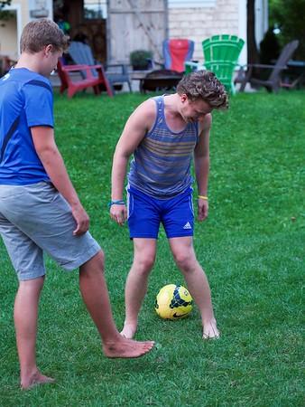 Caleb & Isaac Backyard Sports