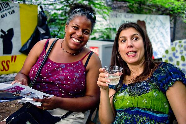 Community Board Nine's Arts & Culture Committee Summer Recess Party & Linda Walton's Birthday Celebration