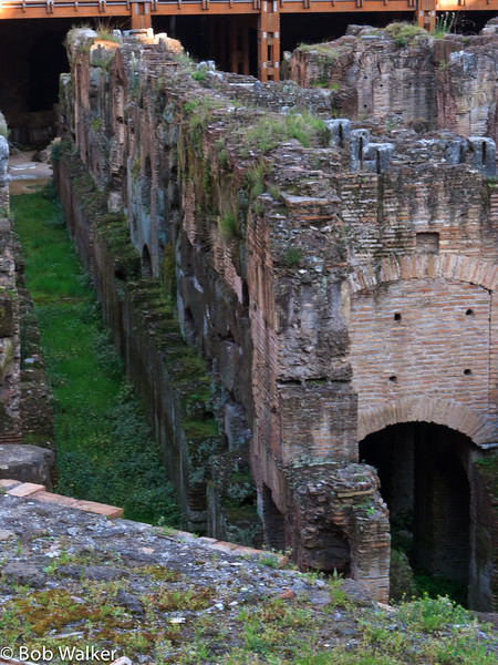Floor of Colosseum