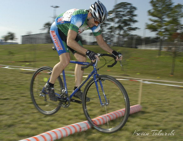 West End  Cyclocross, Stude Park, Houston, January 9, 2005 - Masters 35+/45+/55+