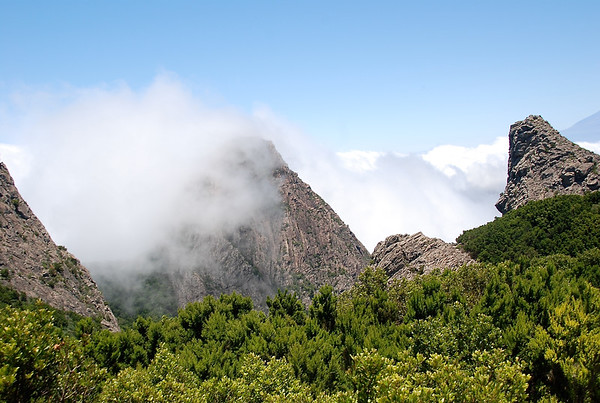 Clouds over La Gomera, Spain