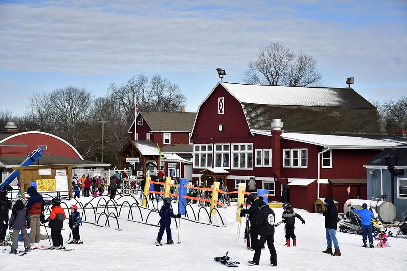 1/12/2019 Mike Orazzi | Staff Mount Southington Ski Area on Mt Vernon Road in Plantsville Saturday.