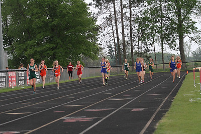 2013 MHSAA Highland Conference Girls 3200 Meter