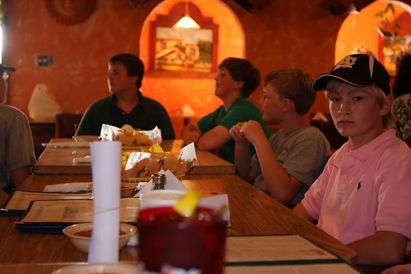 Turner Crews' 13th Birthday Dinner