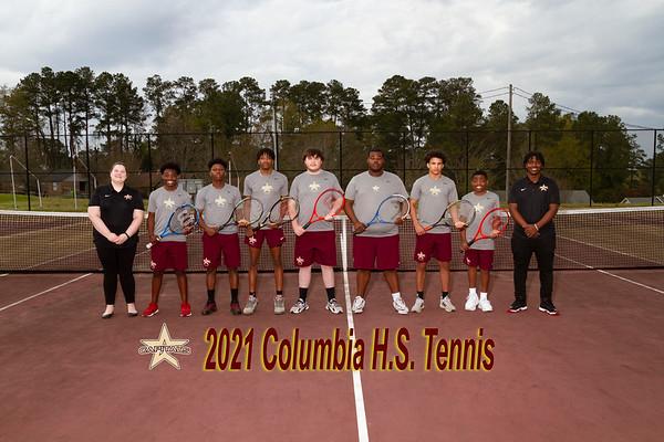 2021 Columbia boys tennis