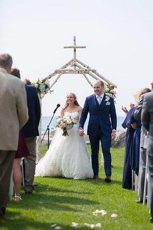 Alexandra + Eric Wedding Inn at Bay Harbor Petoskey, Michigan