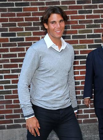 2011-08-24 - Ashton Kutcher, Rafael Nadal